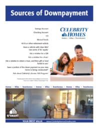 sources of downpayment